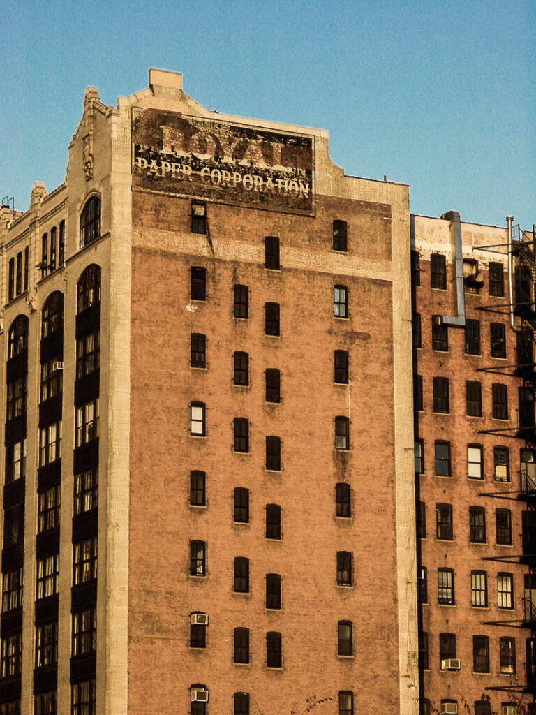 Royal Paper Corporation, 210 11th Ave. at W 25th St., New York, 2001