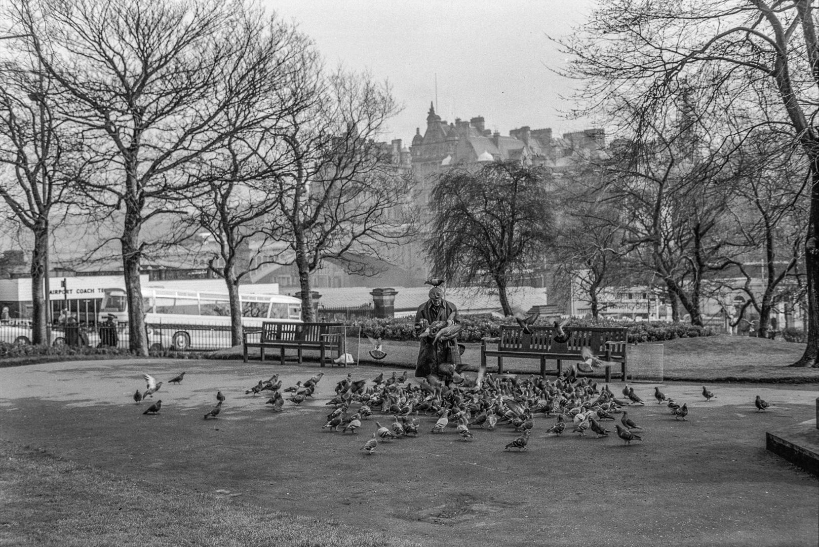 Édimbourg, mars 1975.