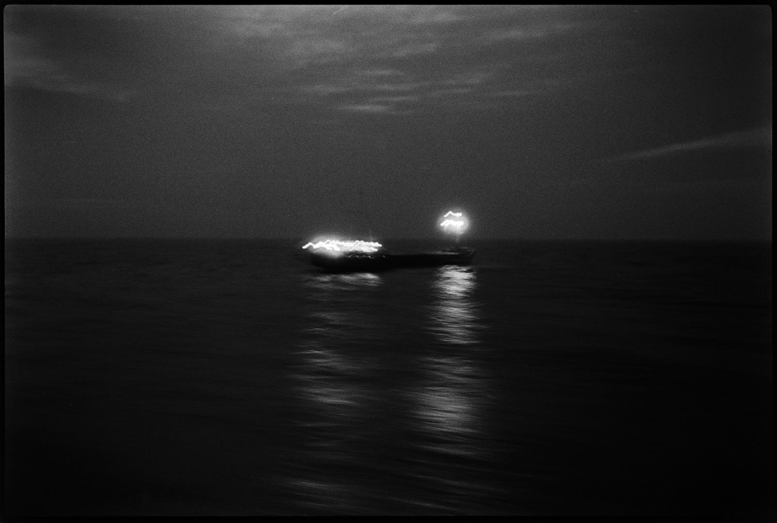 Traversée de la Manche, juin 1984.