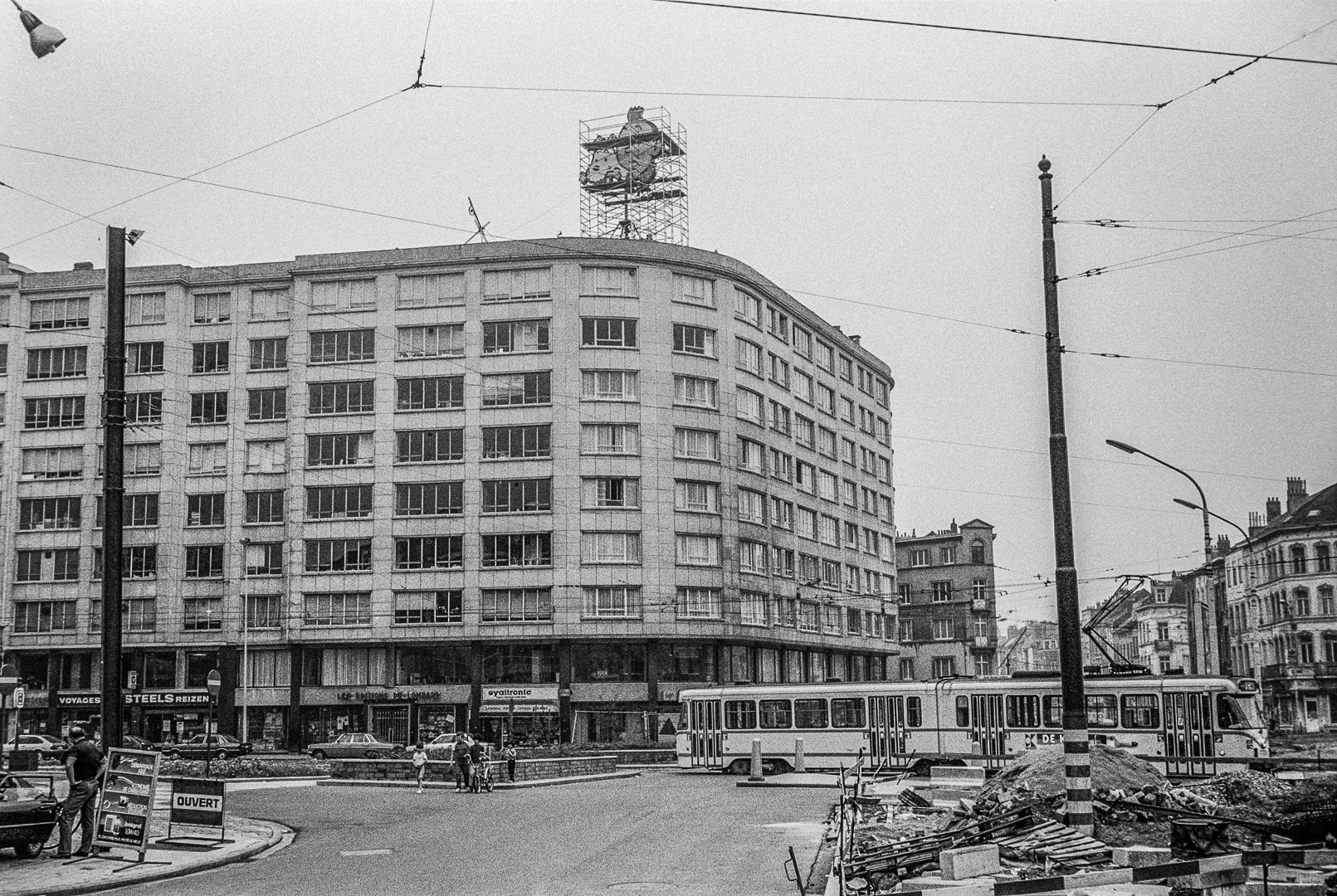 Bruxelles, mai 1983.