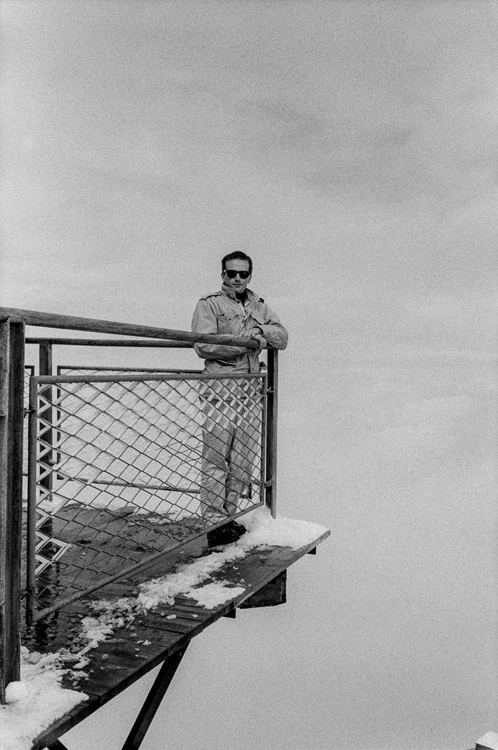 Aiguille du Midi, 1984.